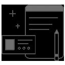 icon image of a clip board